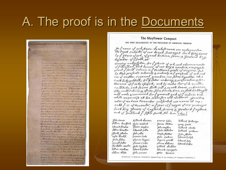 A. The proof is in the Documents