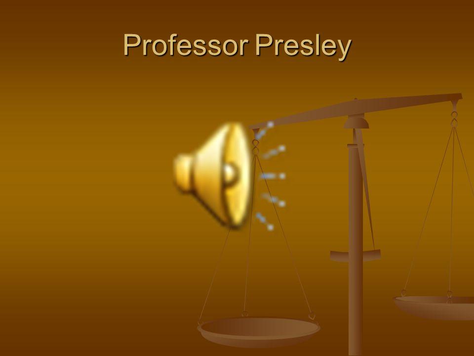 Professor Presley