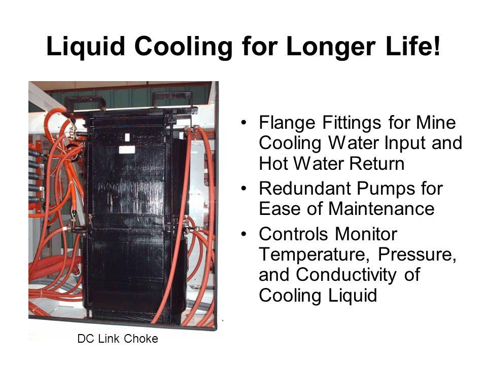 Liquid Cooling for Longer Life.