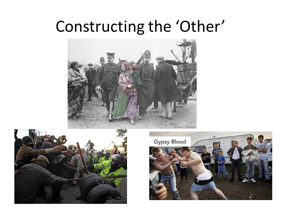 Constructing the 'Other'