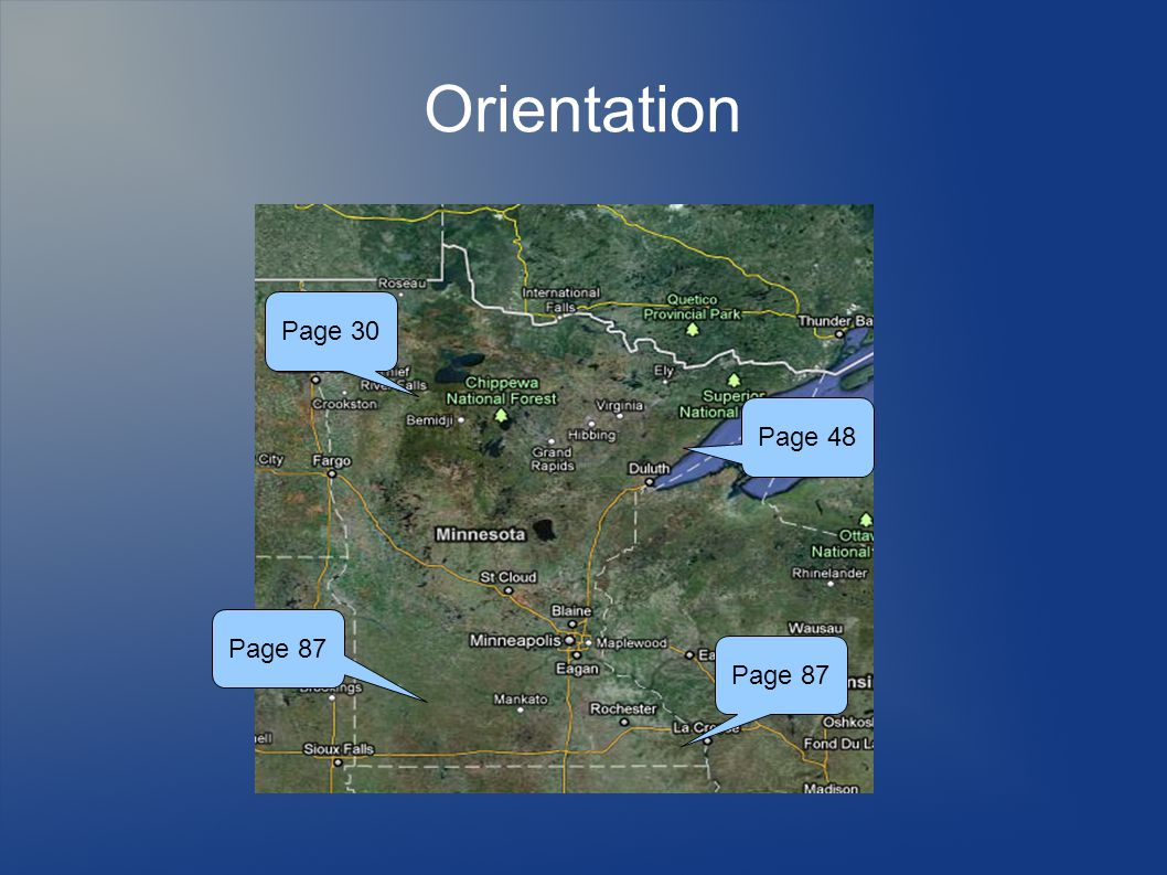 Orientation Page 87 Page 48 Page 30 Page 87