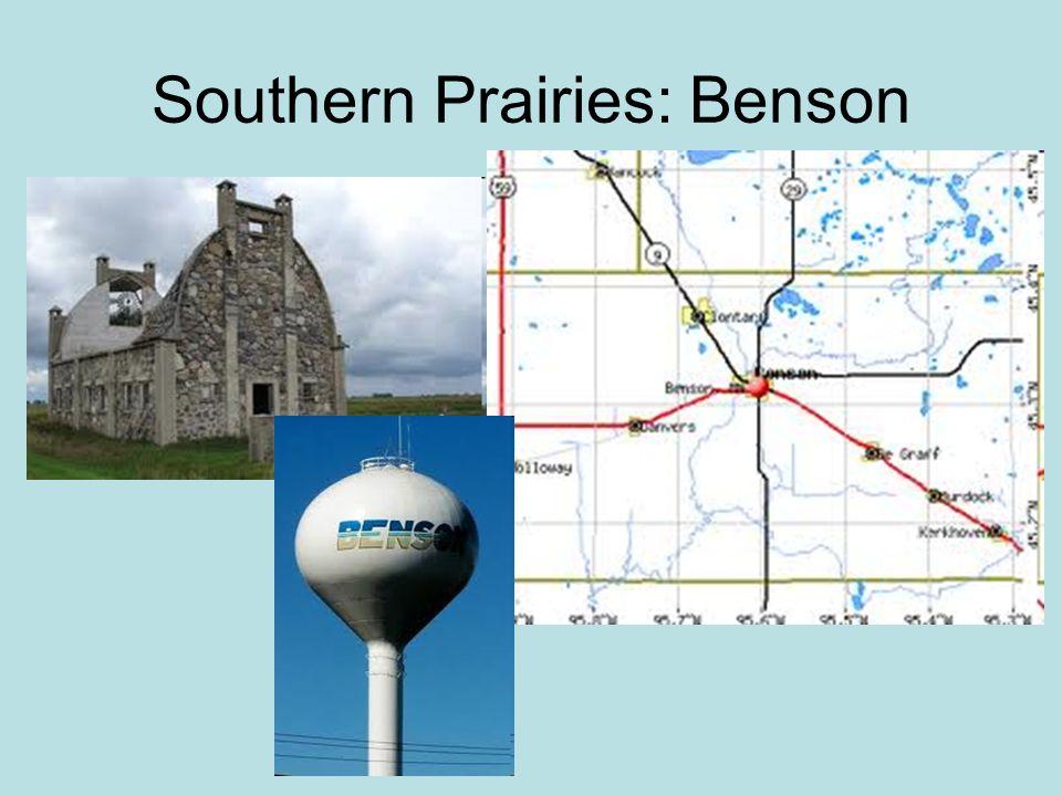 Southern Prairies: Benson