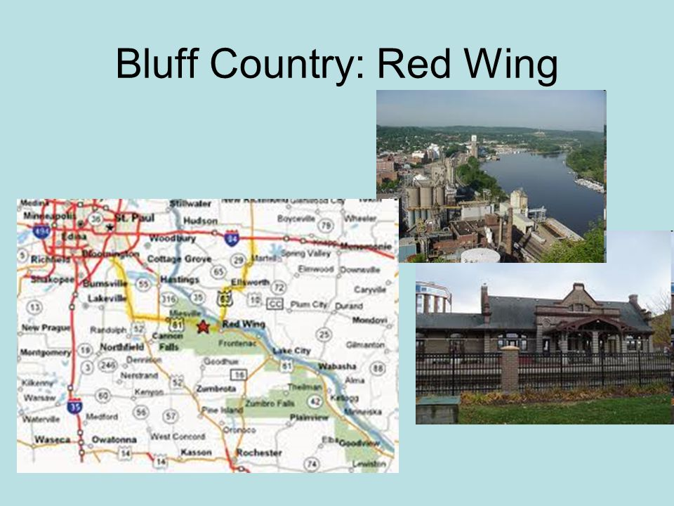 Bluff Country: Red Wing