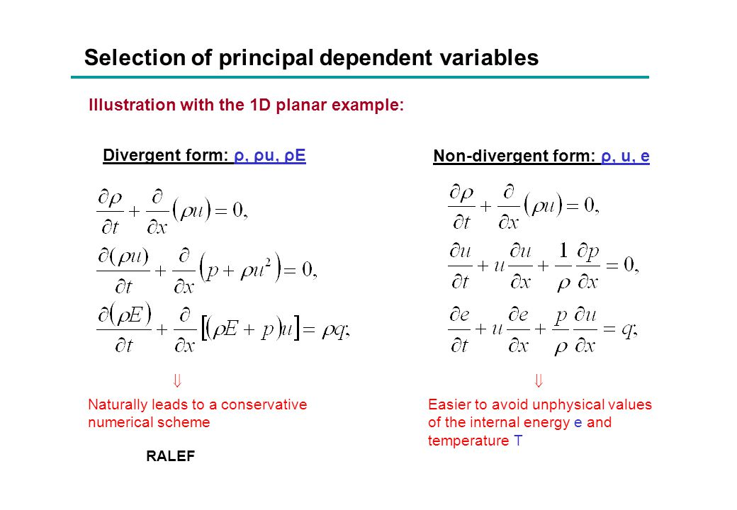 Final state: the transport solution with k 0 = 100 From practical point of view, in this particular case we observe a slow convergence to the exact diffusion solution.