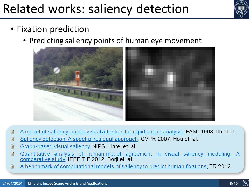 Efficient Image Scene Analysis and Applications24/04/201419/46 BING: Binarized Normed Gradients for Objectness Estimation at 300fpBING: Binarized Normed Gradients for Objectness Estimation at 300fp, IEEE CVPR 2014 (Oral), M.M.