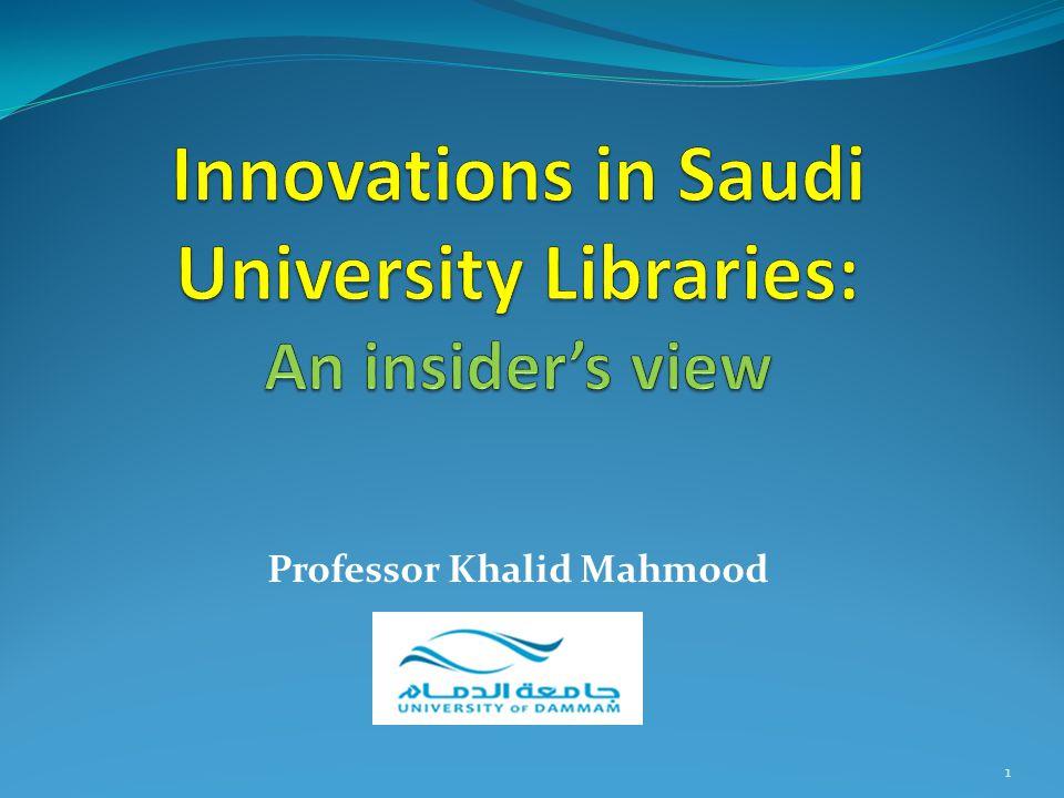 Professor Khalid Mahmood 1