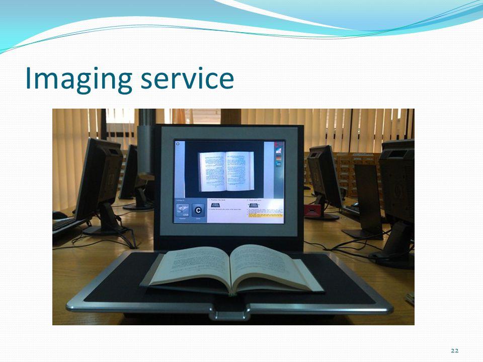 Imaging service 22