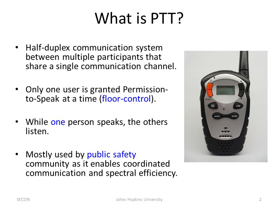 What is PTT.