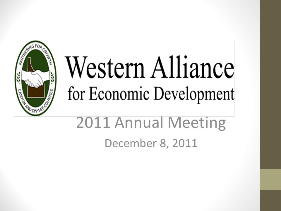 Western Alliance The Western Alliance represents and partners with the cities of Greenleaf, Melba, Notus, Parma, Middleton, and Wilder in Canyon County and Grand View, Homedale, and Marsing in Owyhee County.
