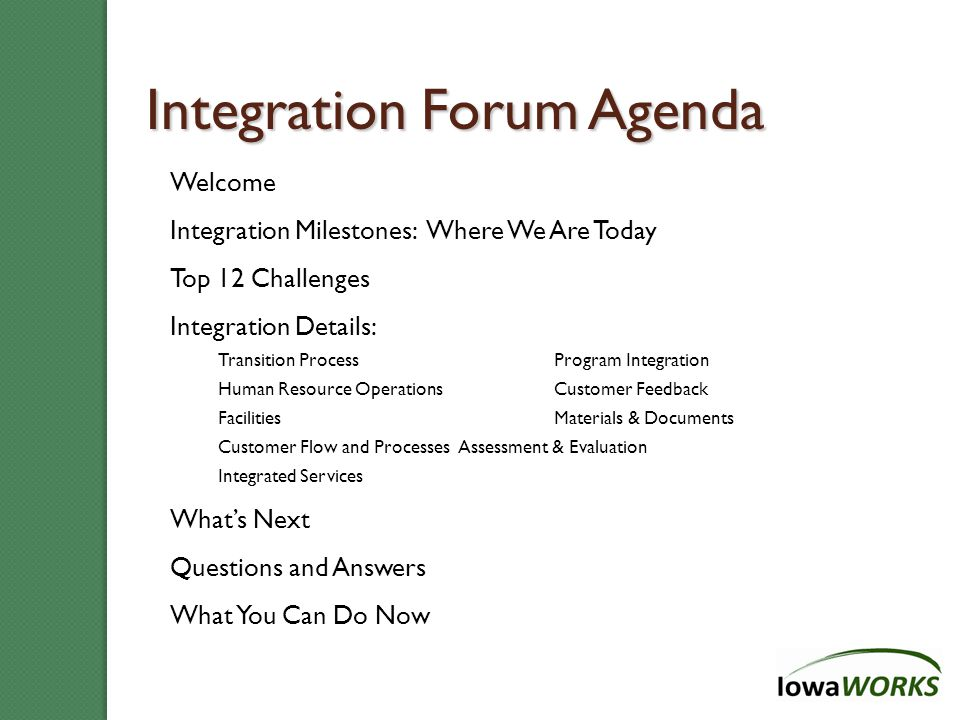 And the Survey Says…Staff 76 % ……of Integrated Staff are 100% or strongly committed to the Integrated Model.
