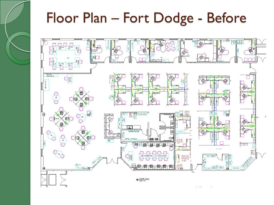 Floor Plan – Fort Dodge - Before