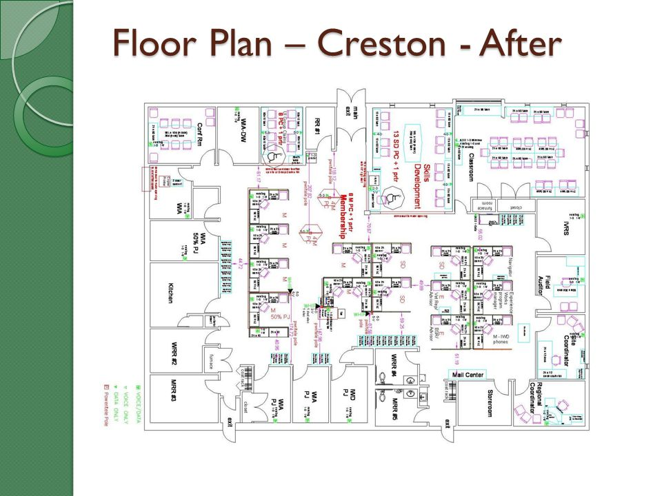 Floor Plan – Creston - After