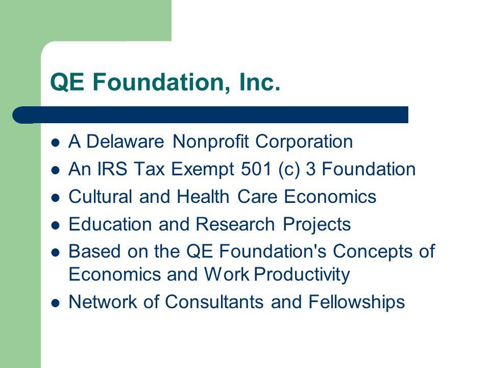 QE Foundation, Inc.