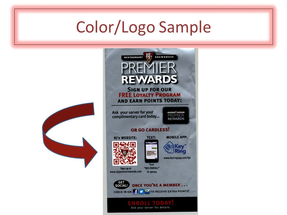 Color/Logo Sample