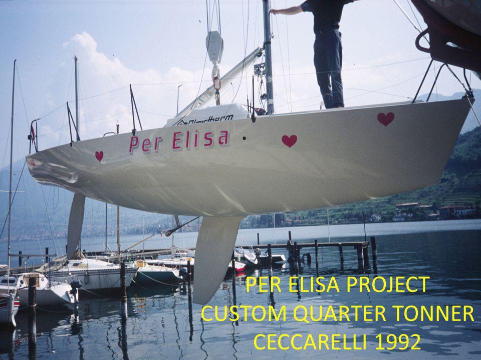 PER ELISA PROJECT CUSTOM QUARTER TONNER CECCARELLI 1992