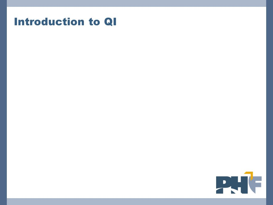 Introduction to QI