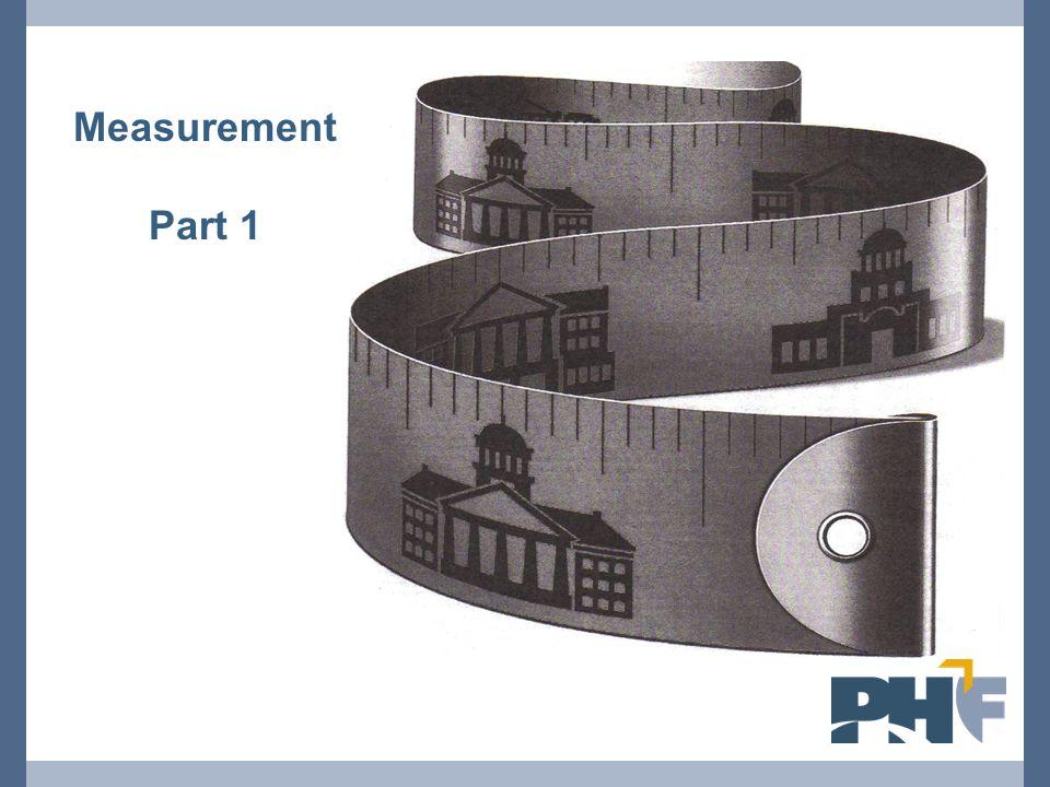 Measurement Part 1