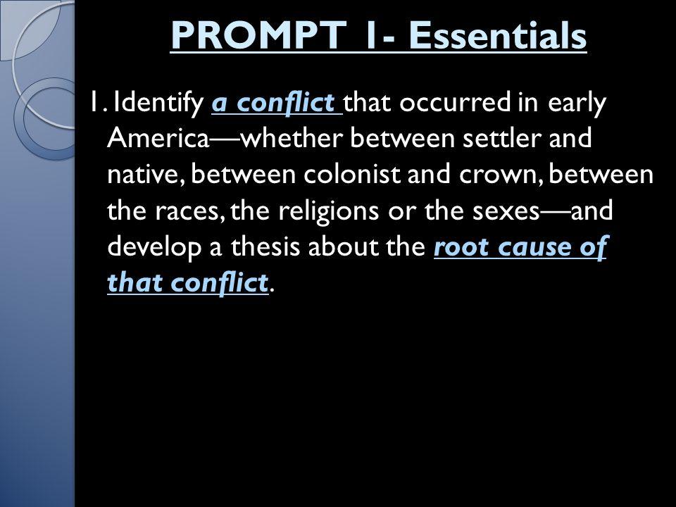 PROMPT 1- Essentials 1.