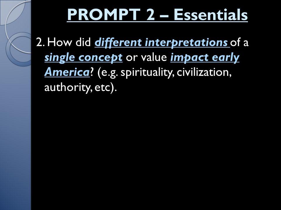 PROMPT 2 – Essentials 2.