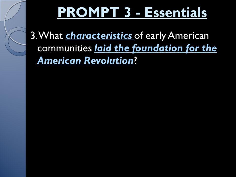 PROMPT 3 - Essentials 3.