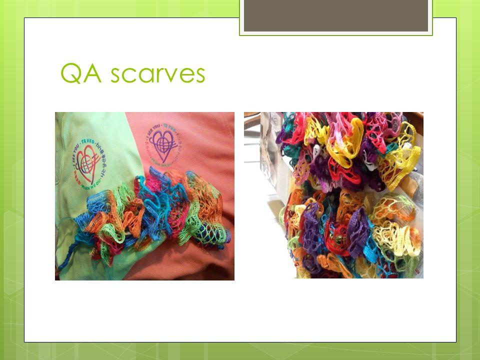 QA scarves