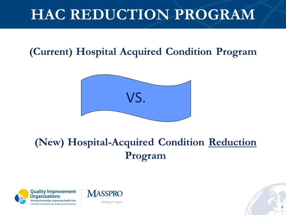 5 CURRENT HAC PROGRAM Part of the Deficit Reduction Act of 2005