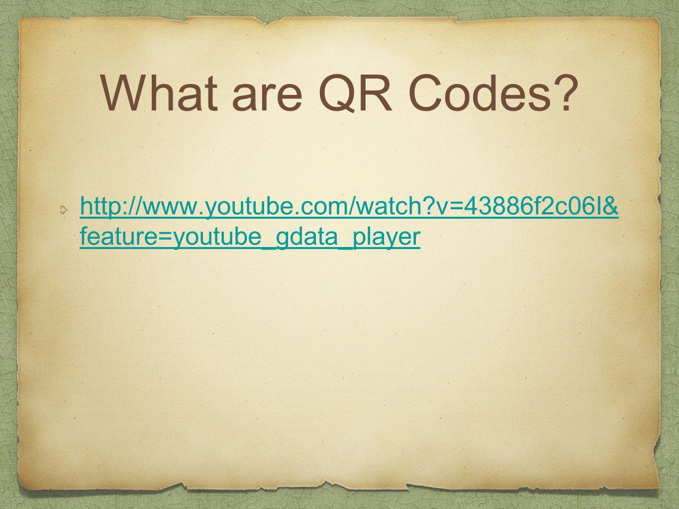 Benefits of QR Codes in Classroom Time saver Interactive tool Access large amounts of information