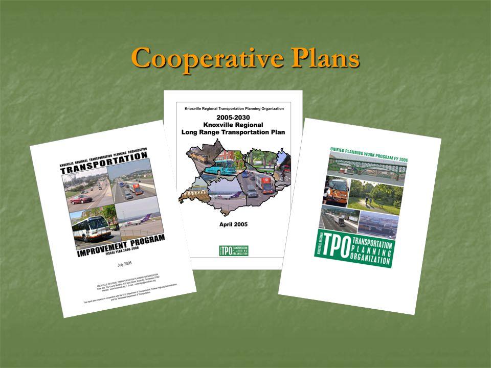 Cooperative Plans