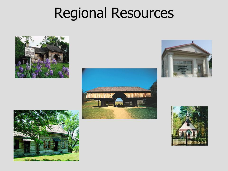 Regional Preservation Trends Lack of resources in rural areas Increased pressures on historical assets Lack of awareness Apathy Concentration of activities in urban areas