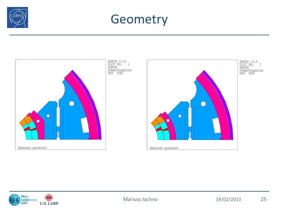 Geometry 19/02/2013 Mariusz Juchno25