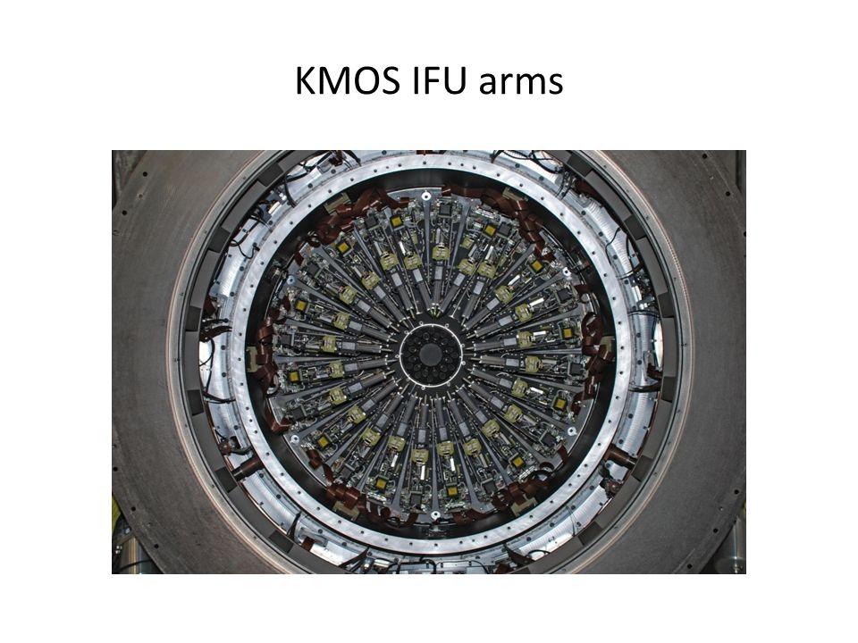 KMOS IFU arms