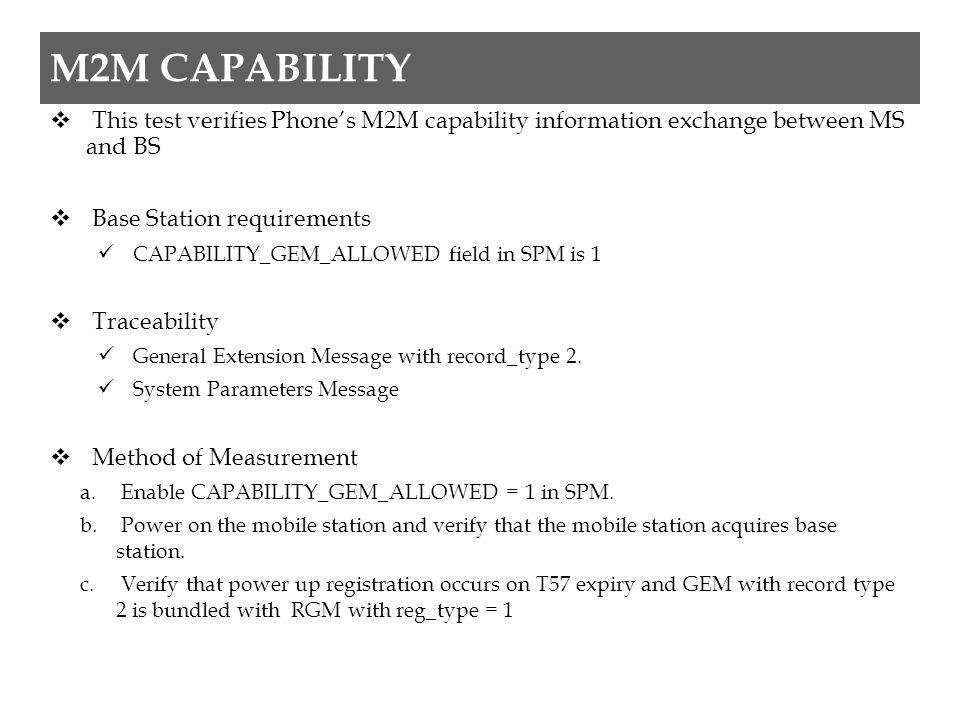 Cont..d. Instruct phone to originate SO33 call. e.
