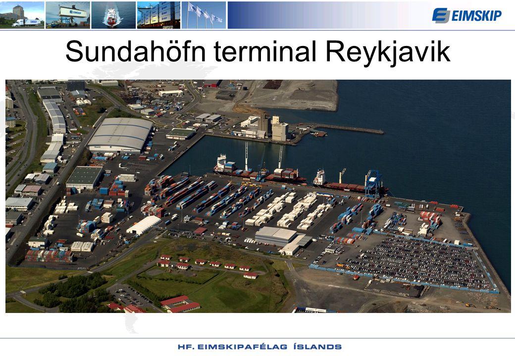 Sundahöfn terminal Reykjavik
