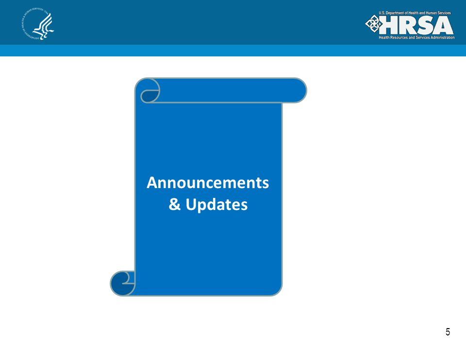 5 Announcements & Updates