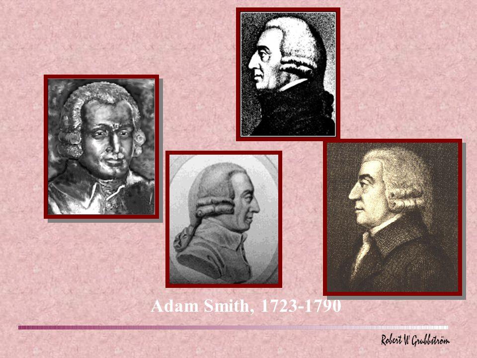 Adam Smith, 1723-1790