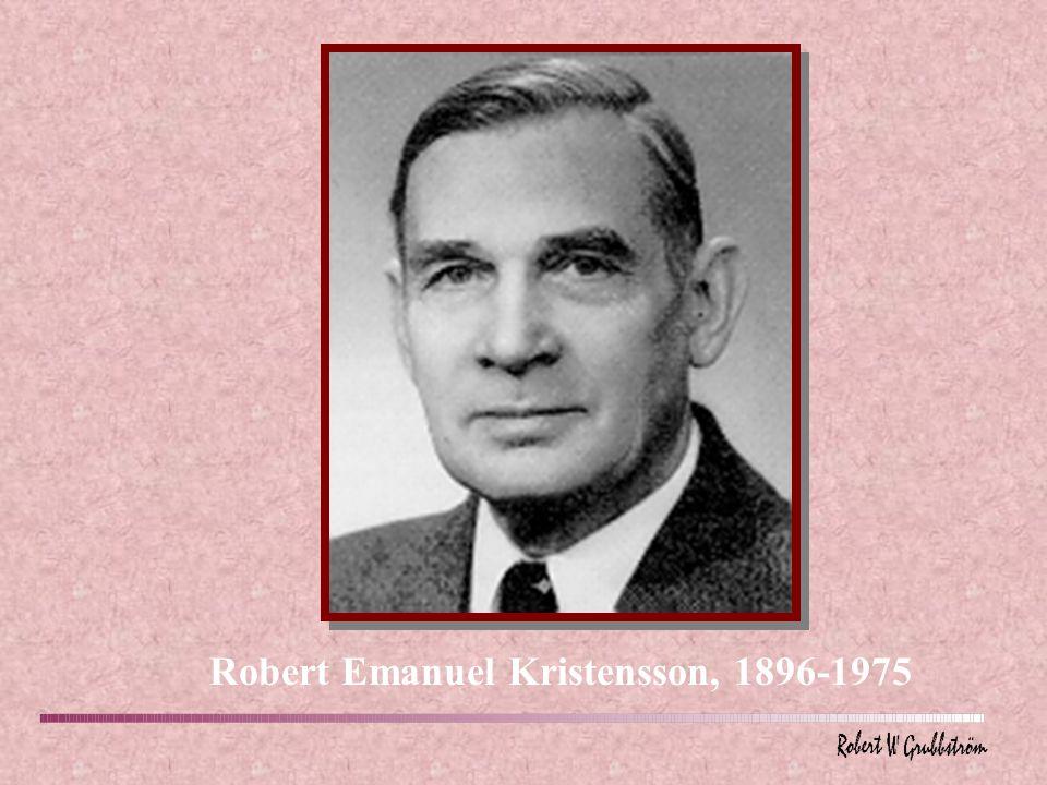Robert Emanuel Kristensson, 1896-1975