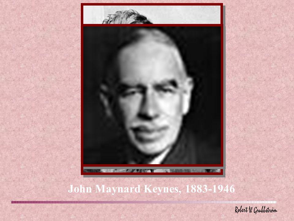 John Maynard Keynes, 1883-1946