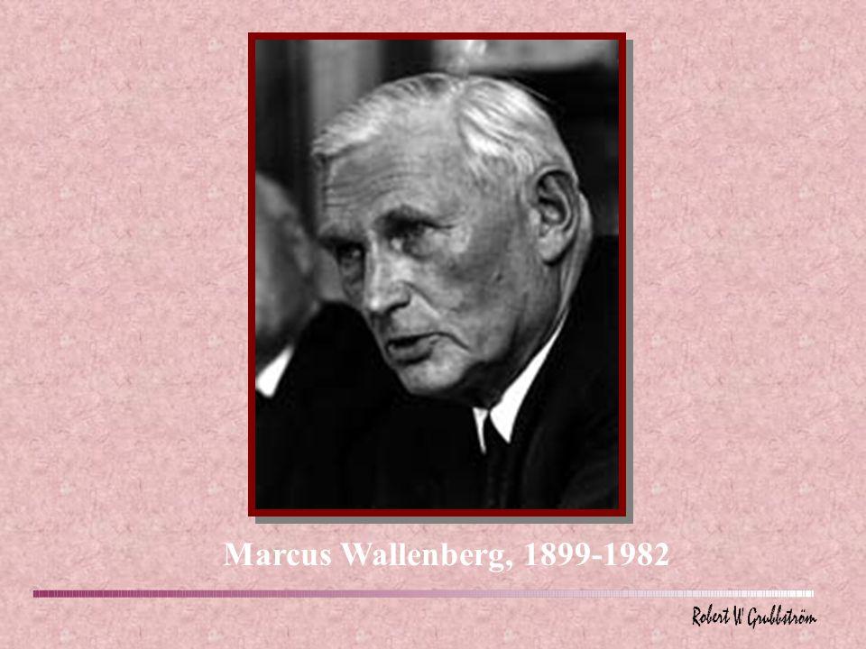 Marcus Wallenberg, 1899-1982