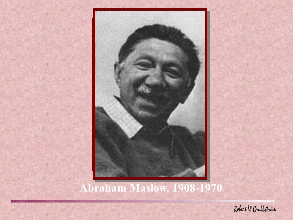 Abraham Maslow, 1908-1970