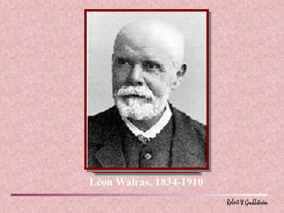 Léon Walras, 1834-1910