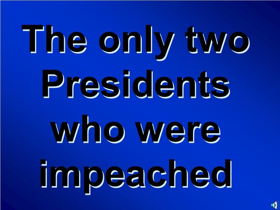 Presidents Final Jeopardy Question