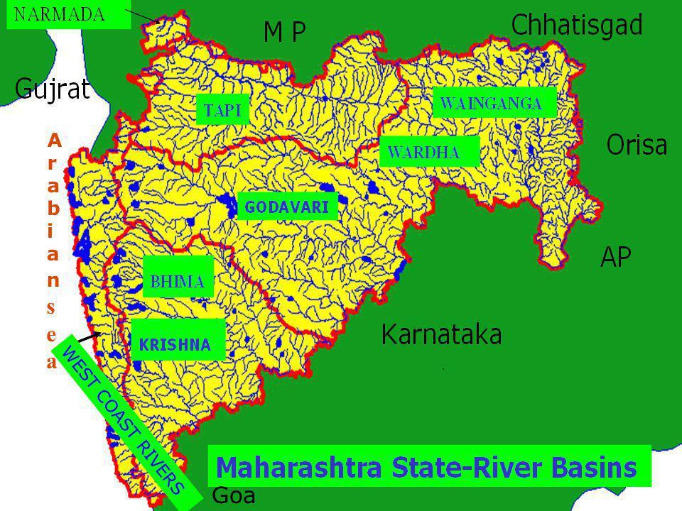 WEST COAST RIVERS Goa ArabianseaArabiansea