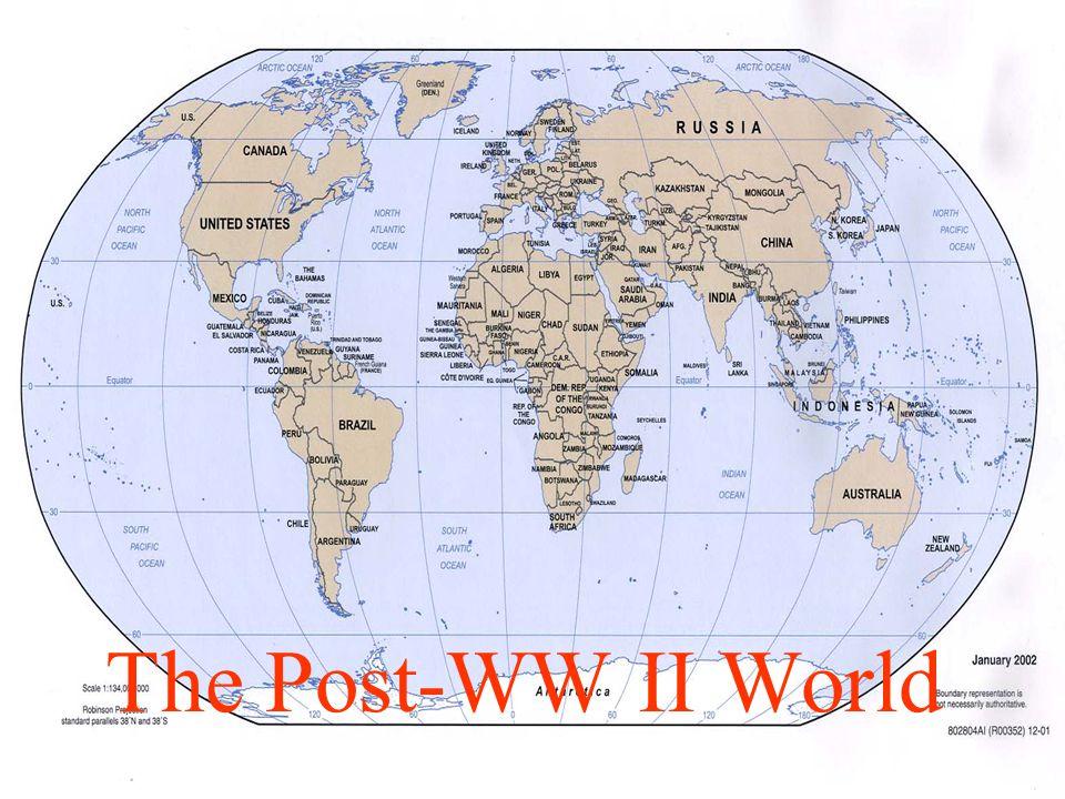 The Post-WW II World