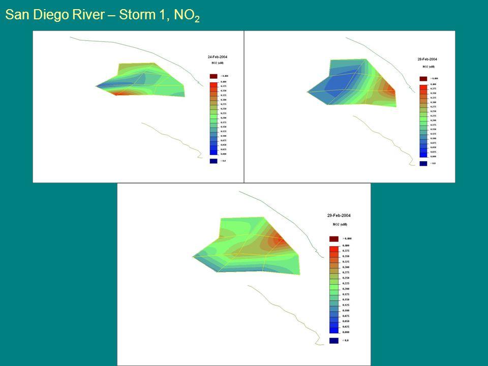 San Diego River – Storm 1, NO 2