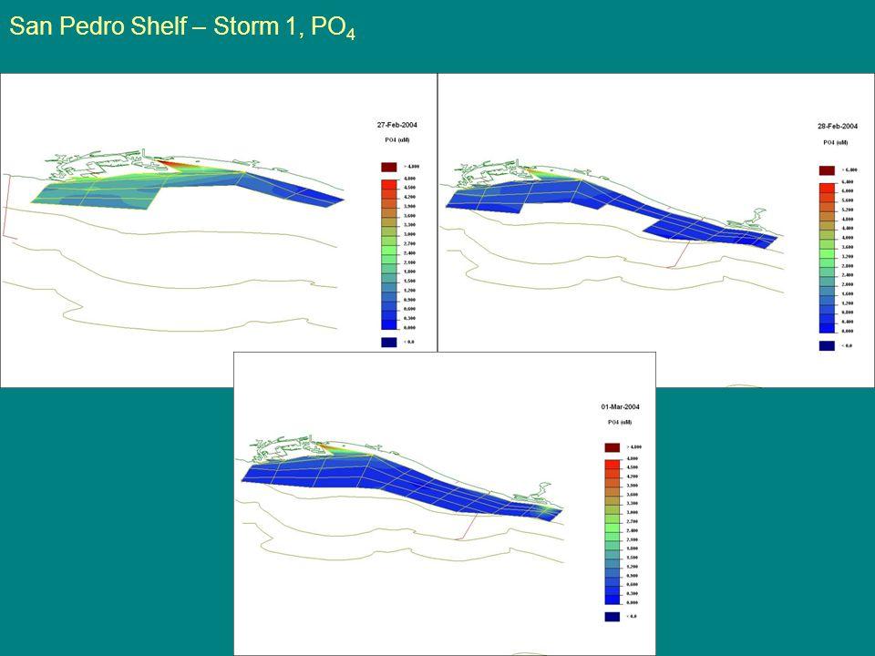 San Pedro Shelf – Storm 1, PO 4