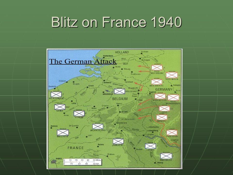 Blitz on France 1940