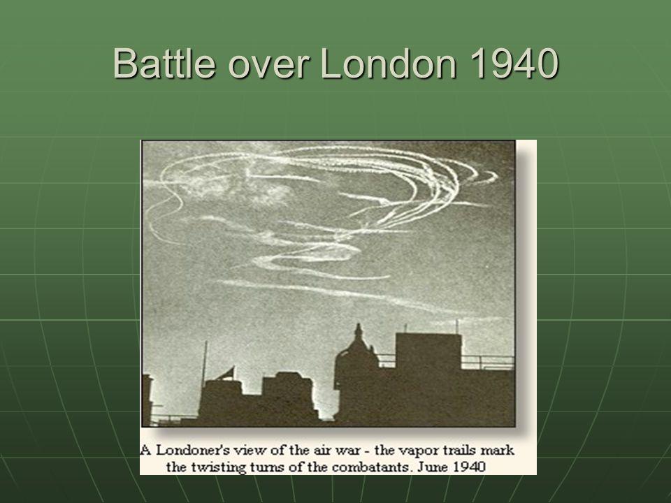 Battle over London 1940