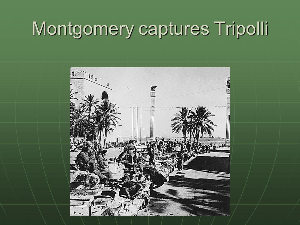 Montgomery captures Tripolli