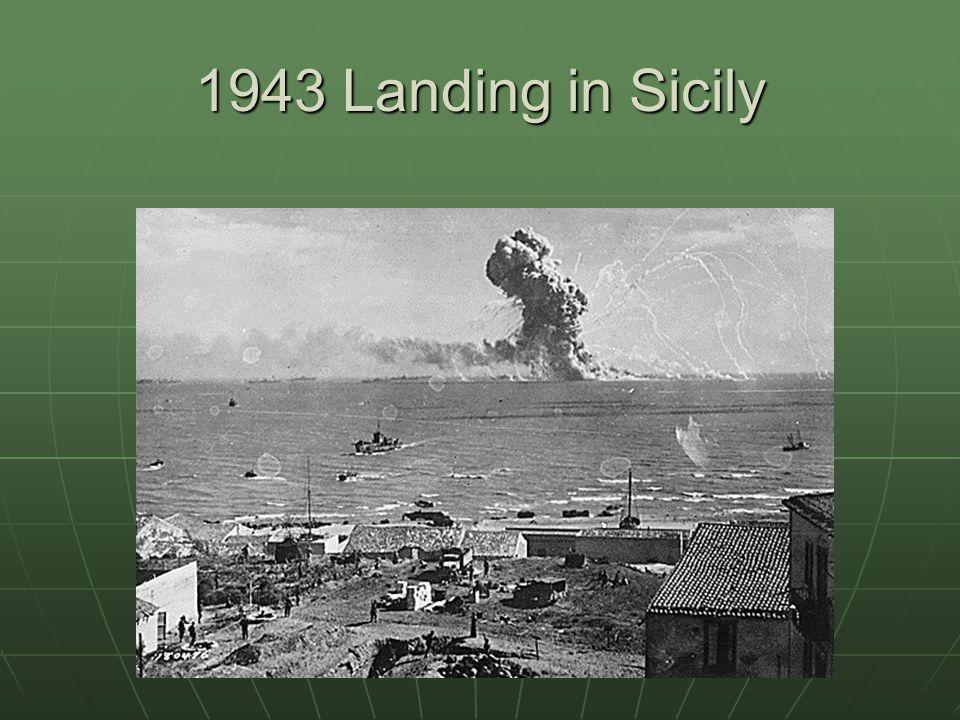 1943 Landing in Sicily