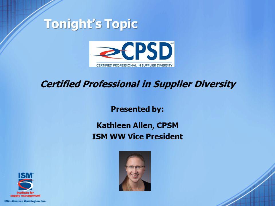 The CPSD™ Exam Content C.